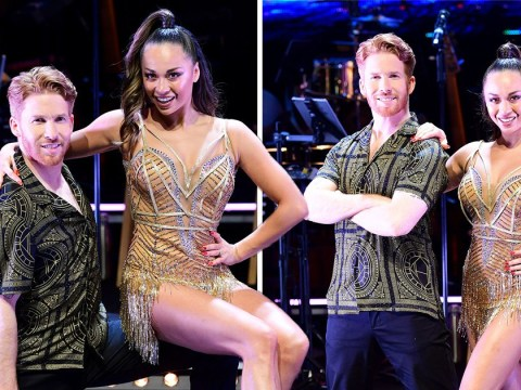 Katya and Neil Jones put on united front for Strictly Come Dancing tour despite 'axe' claims