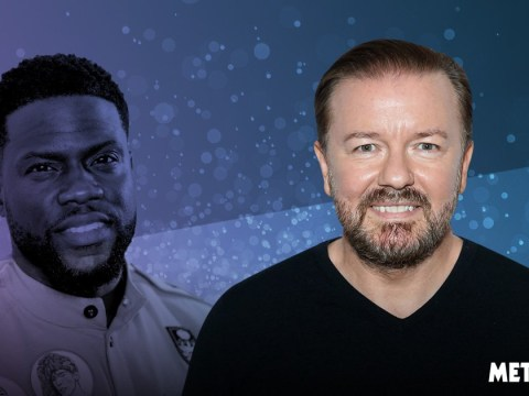 Ricky Gervais says Kevin Hart 'can't keep apologising' for historic homophobic tweets