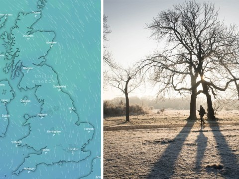 Bank holiday 'close to coldest on record' with snow and frost predicted