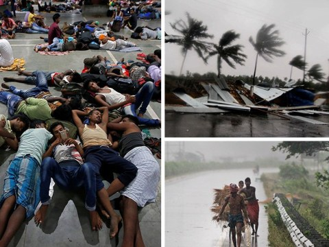 More than a million evacuated as Grade 5 Cyclone Fani slams India's east coast