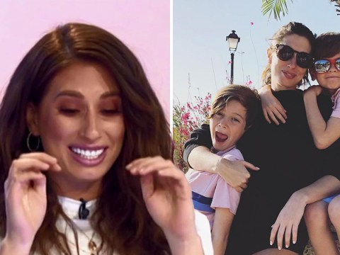 Stacey Solomon tears up as she reveals anxiety over third baby: 'How do I spread the love?'