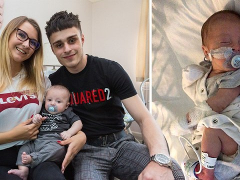Baby nearly starved to death after being misdiagnosed with indigestion