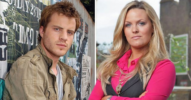 sean slater and tanya branning from eastenders