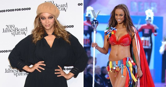 Tyra says she covered her cellulite with long trains