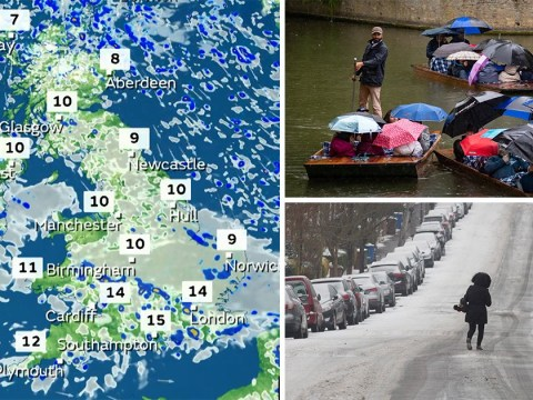 Hail, thunder and snow expected this bank holiday weekend