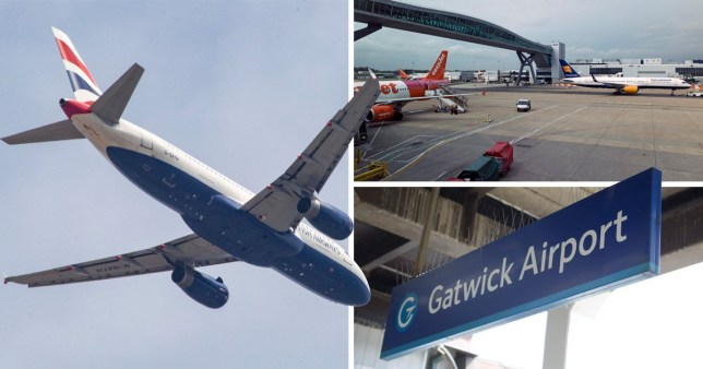 Earthquakes near Gatwick Airport