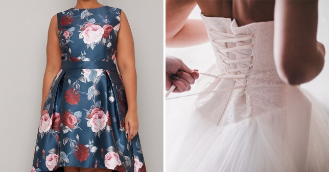 Wedding guest worries she'll upstage the bride with her dress but everyone tells her it's 'horrible'