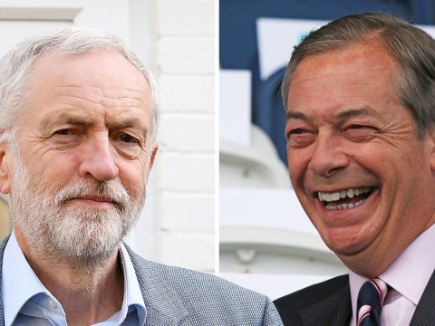 Nigel Farage challenges Jeremy Corbyn to Brexit debate after targeting Labour voters