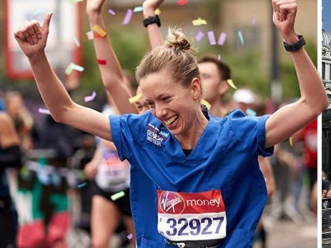Nurse's London Marathon record attempt rejected 'because she didn't wear dress'