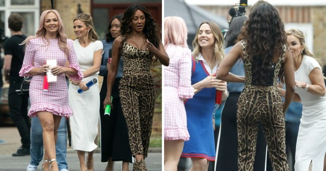 Spice Girls: Mel B, Mel, C, Emma Bunton and Geri Horner