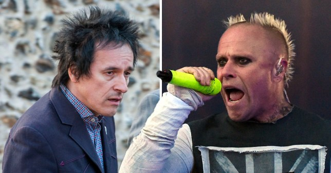 Gizz Buzz and Keith Flint (The Prodigy)