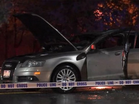 Girl, 3, killed in burning car that was chained shut