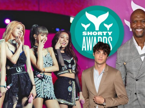 Terry Crews graces the Shorty Awards red carpet as BLACKPINK and Noah Centineo are honoured