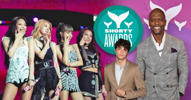 Shorty awards blackpink Noah centineo terry crews