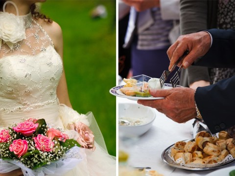 Bride horrified as wedding guest fills 10 containers with food from the buffet