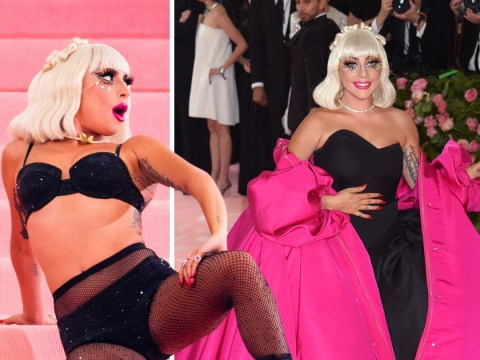 Met Gala 2019: Lady Gaga has already won the red carpet as she strips off to mesh lingerie