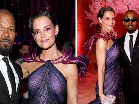 Katie Holmes and Jamie Foxx make Met Gala debut as a couple after six years together