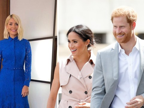 Holly Willoughby pays homage to royal baby as Meghan Markle and Prince Harry welcome boy