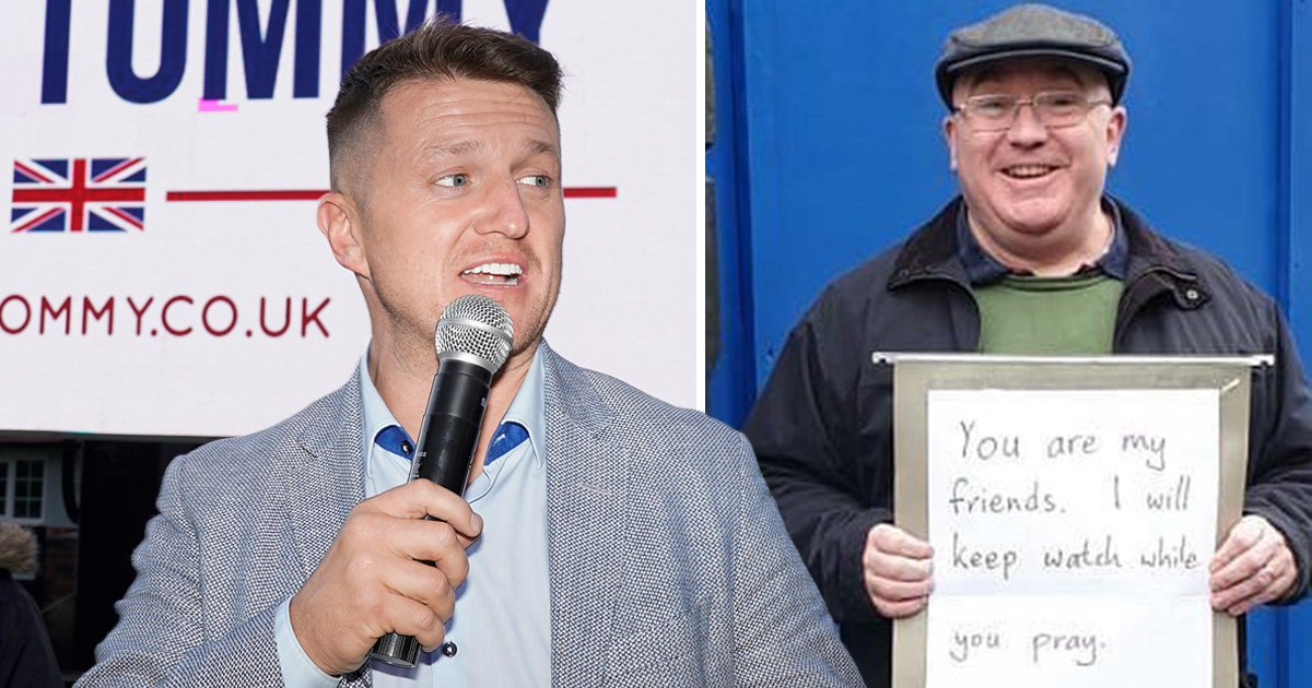Christian tells Muslims 'come out and vote so we don't get stuck with Tommy Robinson'