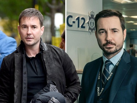 Line Of Duty star Martin Compston loses the Steve Arnott beard to start work on new drama Traces after series five finale
