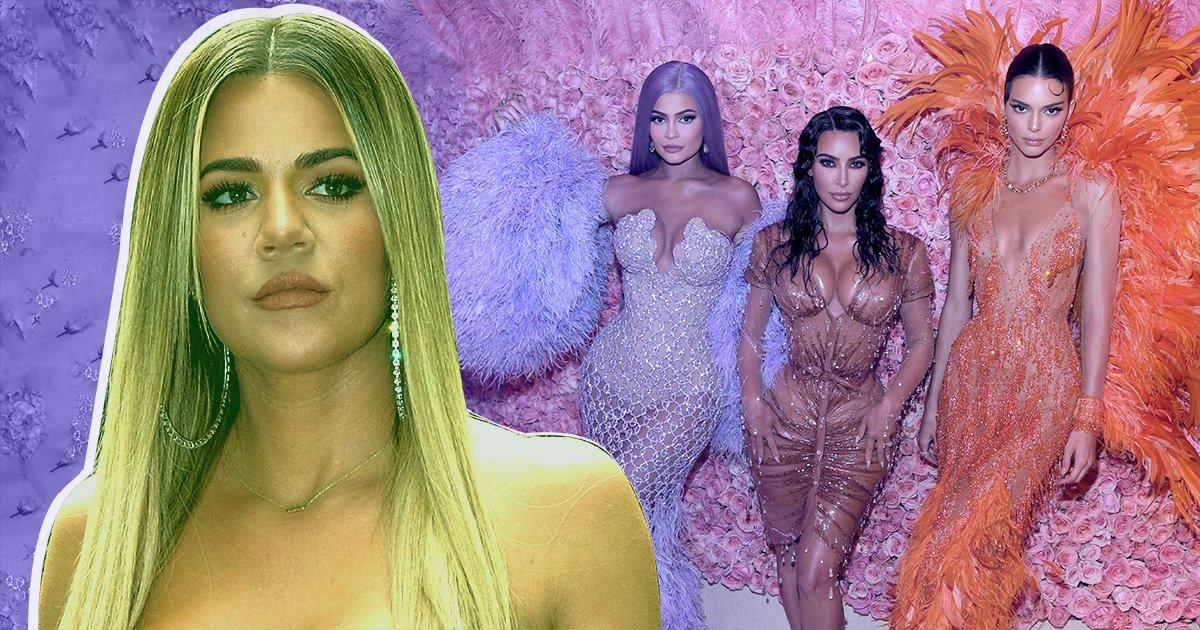Khloe Kardashian 'too lowbrow' for Met Gala despite Kim, Kylie, Kendall and Kris all attending