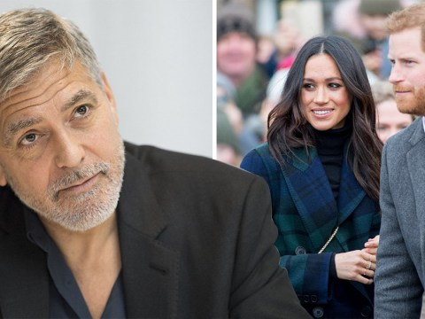 George Clooney shuts down rumours he is godfather to Meghan Markle and Prince Harry's son Archie