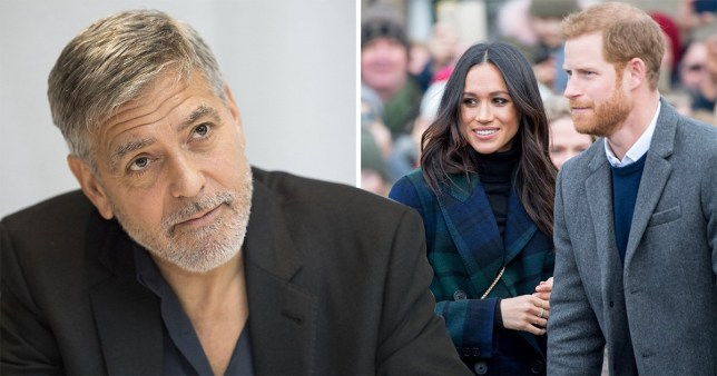 George Clooney won't be godfather to Harry and Meghan's baby