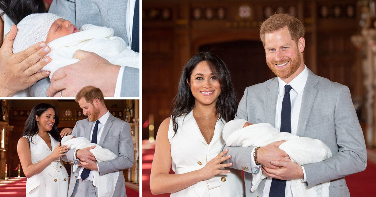 Royal Baby name revealed today by Meghan Markle and Prince Harry