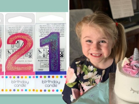 Mum's anger after Tesco substitutes 5 birthday candle for two 2s and a 1