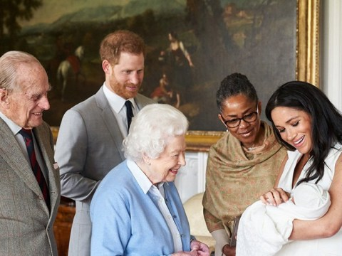 Meghan Markle and Prince Harry reveal royal baby name as Archie Harrison