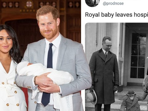 Haters target Royal Baby Archie as they attack Harry and Meghan's Instagram
