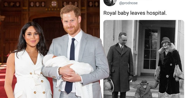 Archie Harrison Mountbatten Windsor targeted by haters already