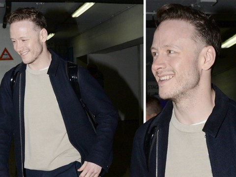 Kevin Clifton can't wipe smile off his face after 'moving in with Stacey Dooley'
