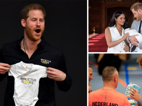 Prince Harry leaves Archie and Meghan for Invictus Games trip in the Netherlands