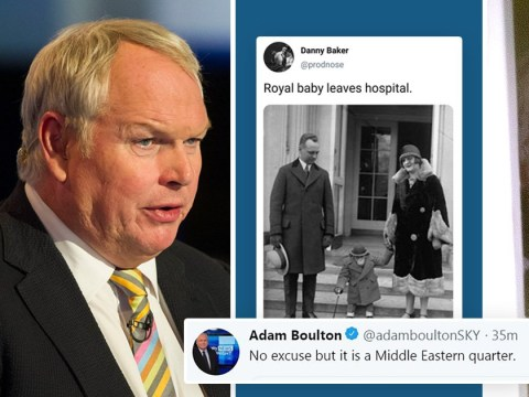 People are not happy that Danny Baker lost his job and Adam Boulton didn't