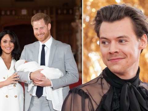 Harry Styles announced as Royal Baby Archie's father in Spanish news channel mix-up