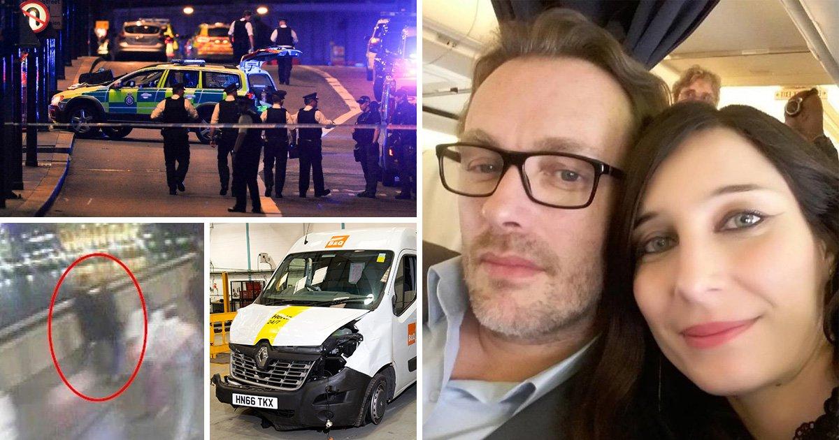 Girlfriend of London Bridge attack victim had 'premonition' about terrorists day before