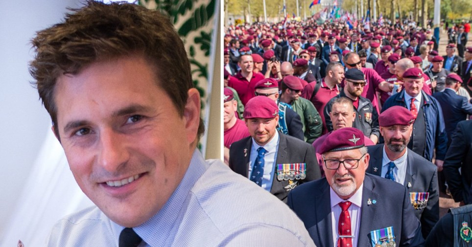 Veterans question Johnny Mercers stand against Theresa May