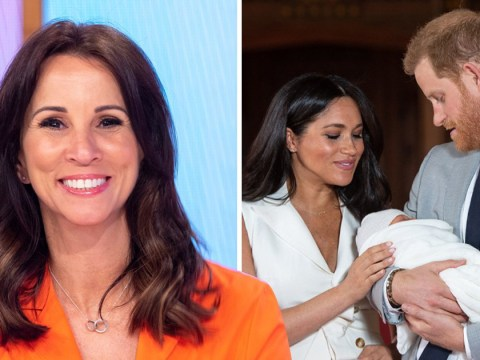 Andrea McLean thought Royal Baby name was a joke on Loose Women: 'Oh no it's real'