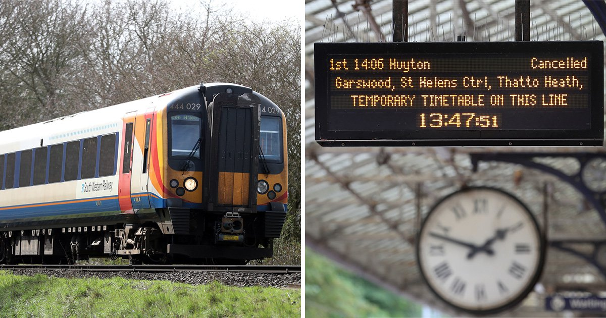 Brace yourselves for utter chaos on trains next week with new rail timetables