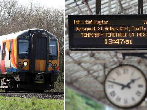Brace for utter chaos on trains next week as new rail timetables kick in