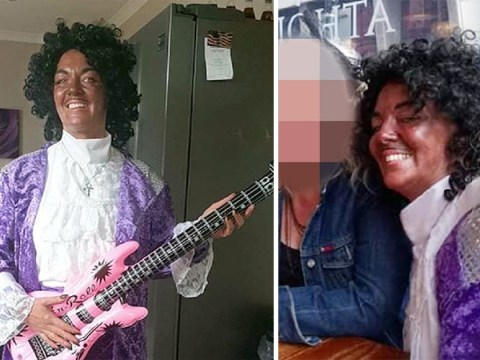 Mum 'blacked up' to go to 80s party dressed as Prince