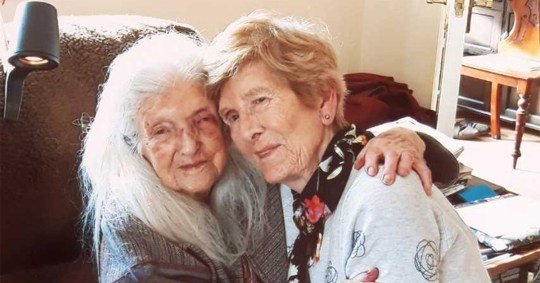 Eileen Macken said she had never been happier after meeting her mum Elizabeth who turns 104 tomorrow.