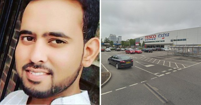 Nadeem Uddin Hameed Mohammed, 24, was knifed in the chest in a Tesco car park