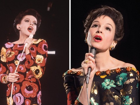 The first official trailer drops for the Judy Garland biopic and we're living for Renee Zellweger as the Hollywood icon