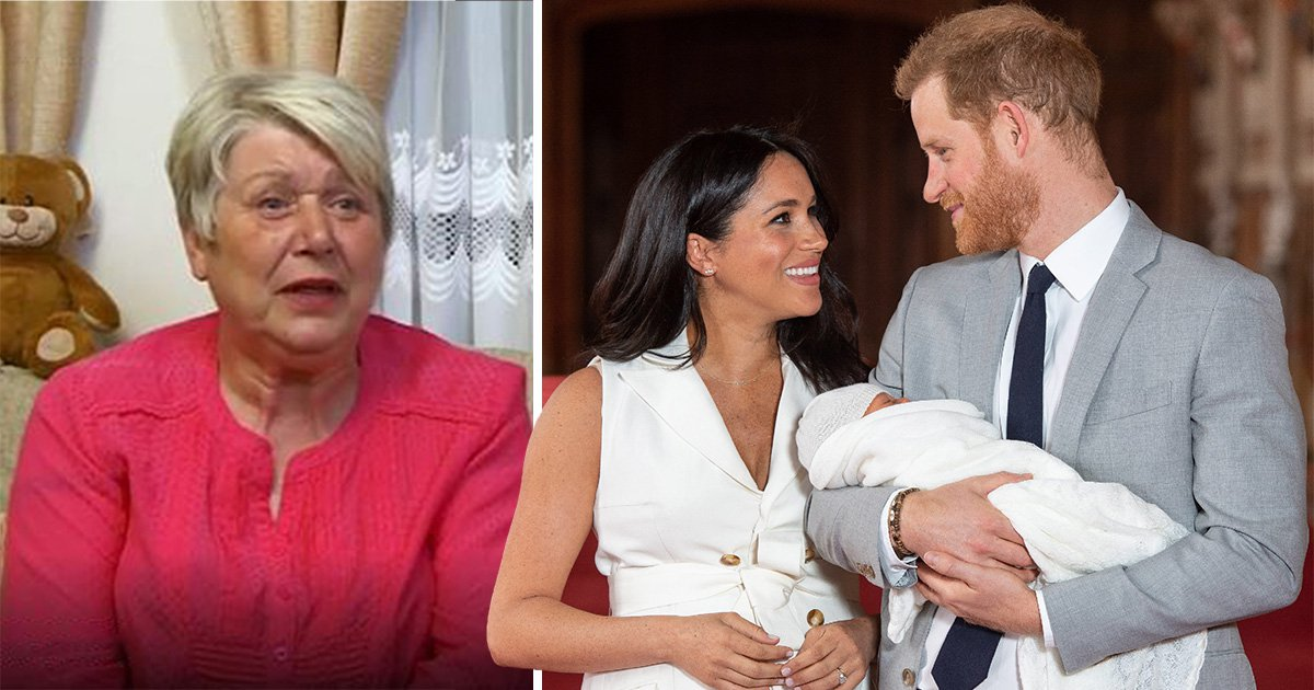 gogglebox jenny guesses name archie meghan markle and prince harry son