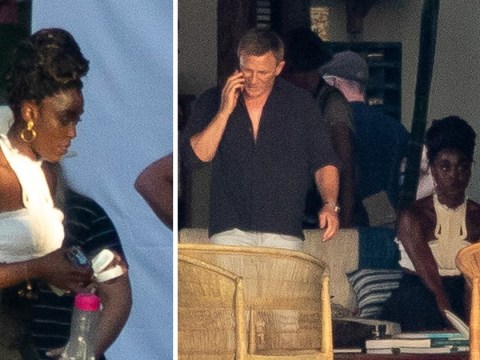 Daniel Craig spotted filming exotic scenes with new 'Bond Girl' Lashana Lynch in Jamaica