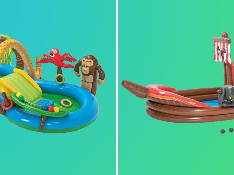Lidl is selling amazing jungle and pirate adventure paddling pools for £35