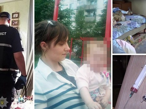 Inside horror flat where girl, 2, 'spent nine days next to parents' bodies'
