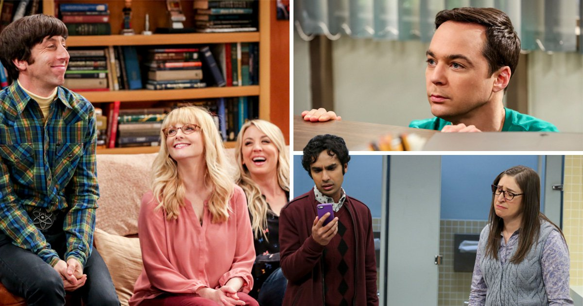 Stills from The Big Bang Theory's final two episodes The Change Constant and The Stockholm Syndrome